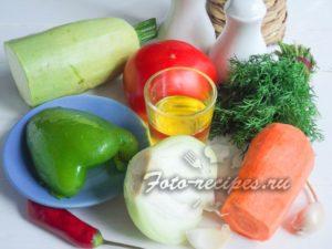 Продукты для кабачков в томатном соусе