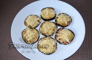 баклажаны с чесноком и сыром