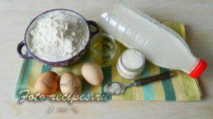 продукты для блинов на молоке