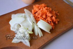 овощи на разделочной доске