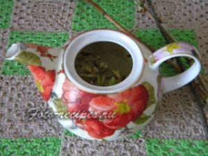 завариваем малиновый чай