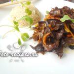 Жареные китайские древесные грибы