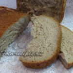 Пшенично ржаной хлеб в хлебопечке