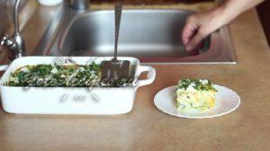 Запеканка из кабачков в духовке с сыром и луком