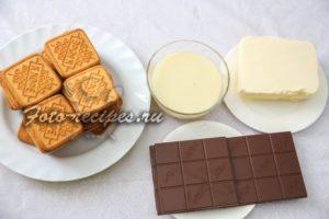 Продукты для шоколадной колбасы
