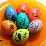 украсить яйца на пасху
