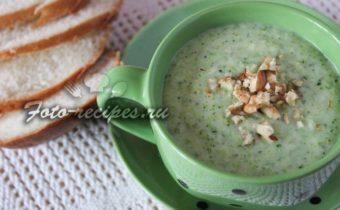 Крем суп из брокколи со сливками