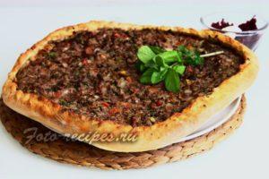 Лахмакун - Турецкая мясная пицца