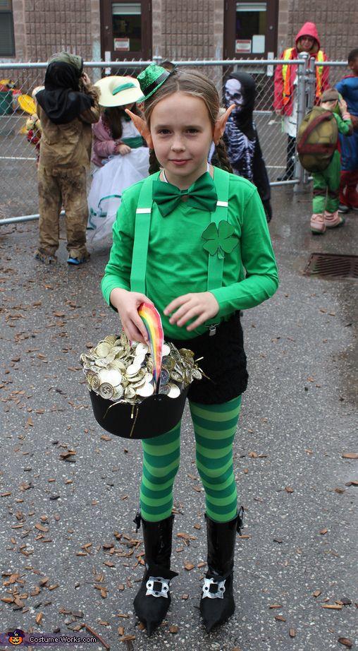 детский образ на Хэллоуин