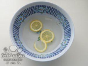 дольки лимона