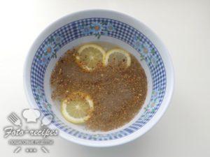 приправа и лимон