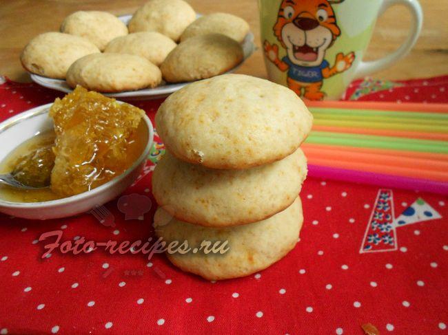 рецепт медового печенья