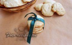 Апельсиновое песочное печенье