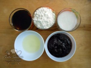 продукты для чайного пирога