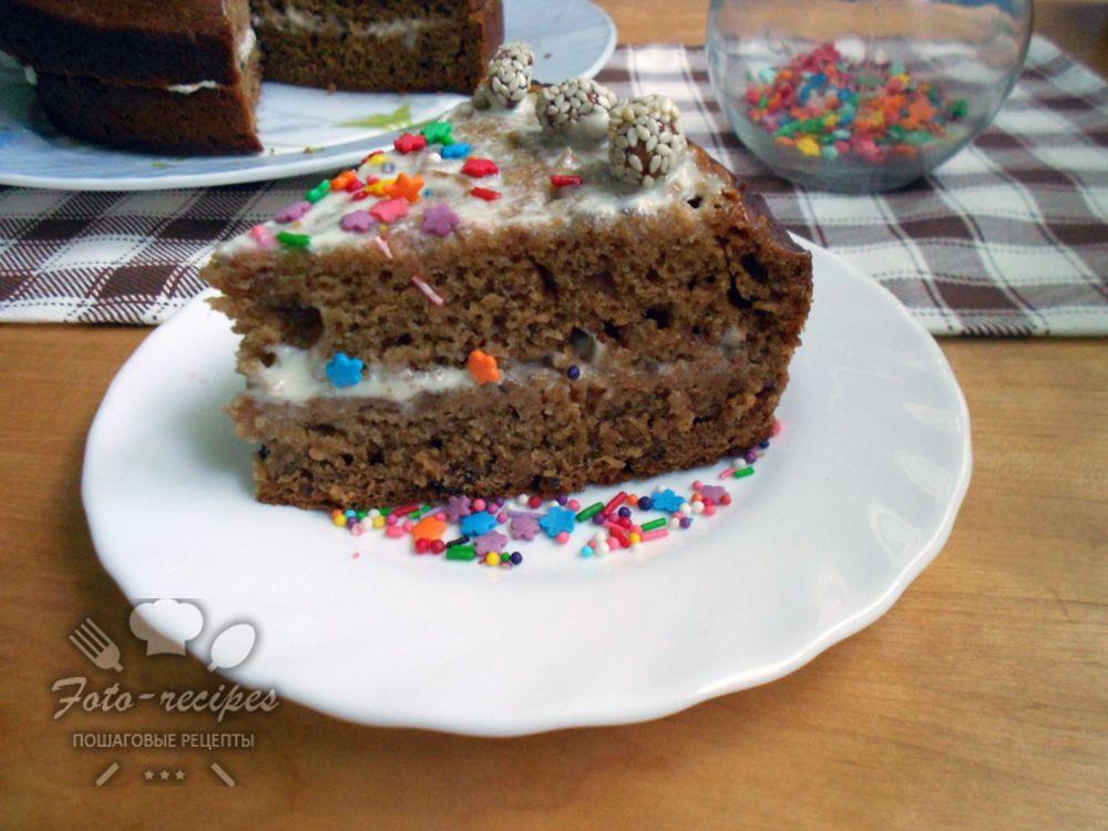 чайный пирог из заварки