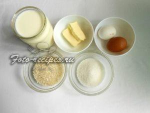 Подготовьте продукты для пудинга