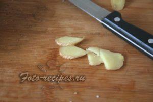 нарезать чеснок