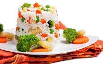 Готовим рис с овощами на старый новый год