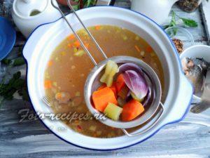 Варите суп 10 мин