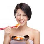 Как держать китайские палочки для суши