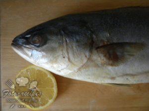 тунец и лимон