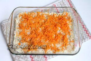 добавить морковь в форму