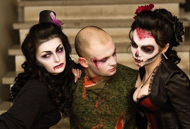 Образ на Хэллоуин для парней