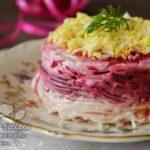 салат из редьки и свеклы