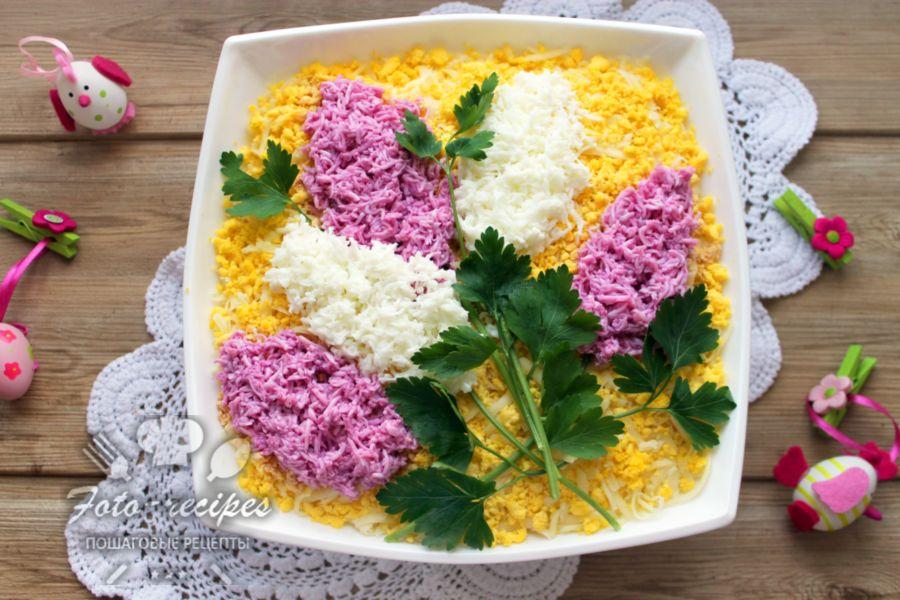 Салат сирень
