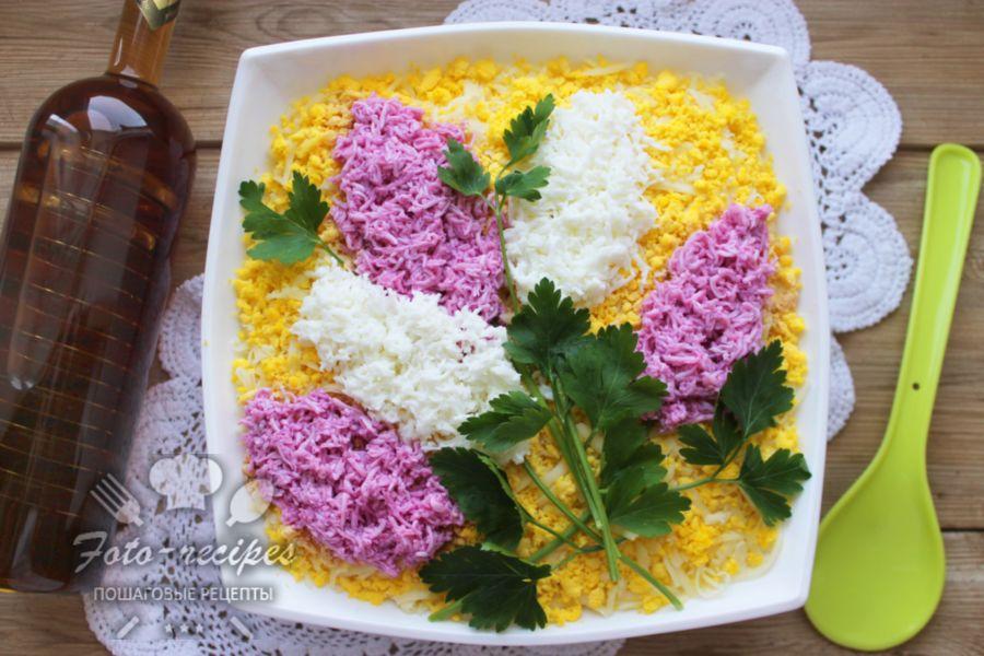 салат ветка сирени