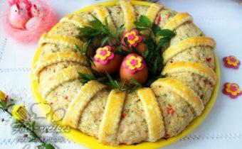 готовый пасхальный пирог