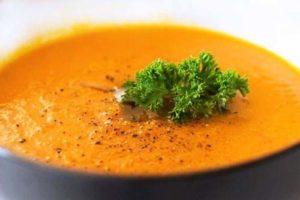 суп пюре из пророщенной гречки с морковью