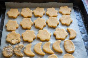 резные печенья на желтках