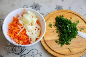 нарезные овощи