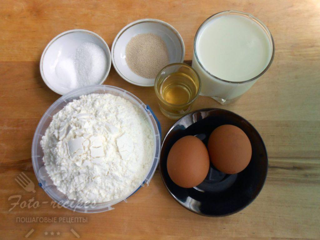 продукты для дрожжевого теста