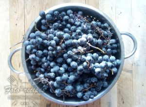 виноград с косточками на зиму